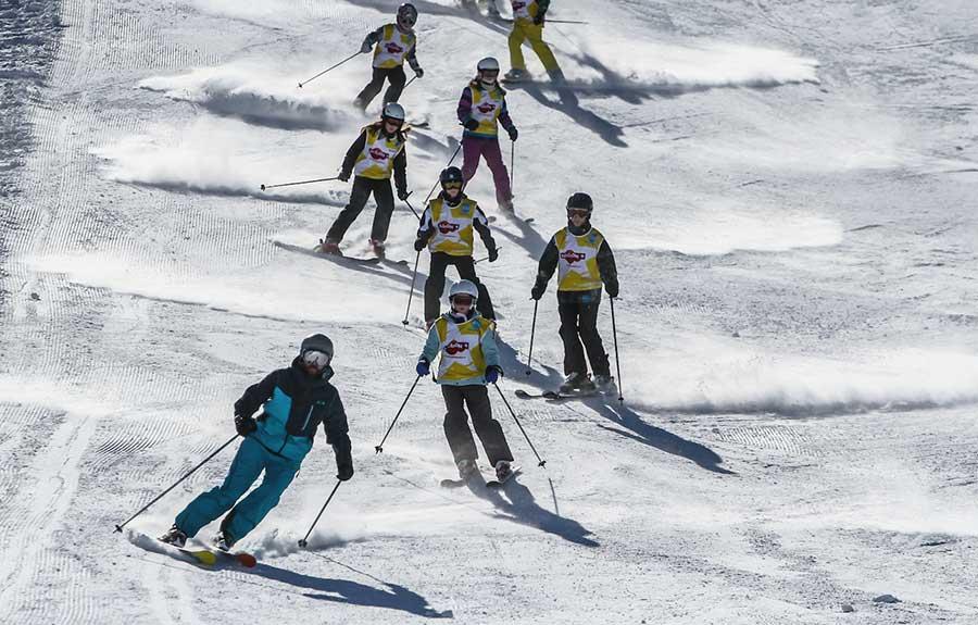 ZigZag children's ski lessons Samoens
