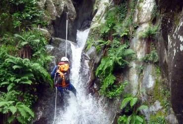 Canyoning paragliding climbing Samoens ZigZag