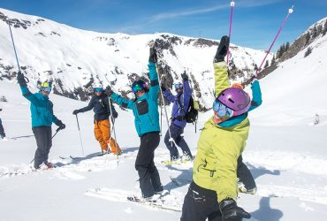 Adult ski lessons in France