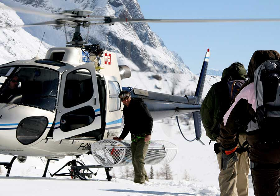Heliski from Samoens Grand Massif with ZigZag Ski School heliskiing adventures