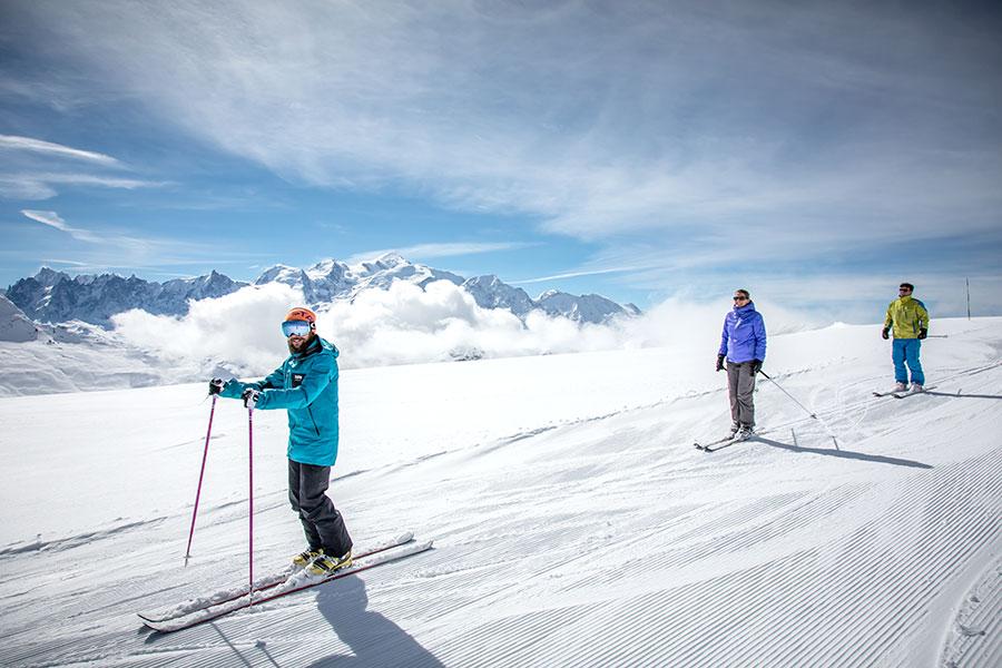Ski guiding Grand Massif