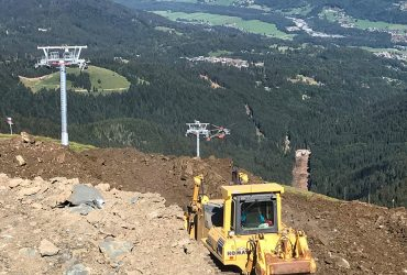 Construction of the Coulouvrier lift Samoens Grand Massif 2017